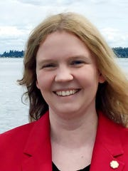 April Ferguson is a candidate for the North Kitsap School Board in the Aug. 1 primary election.