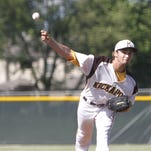 Kickapoo pitcher Logan Wiley tossed a complete seven-inning game in the Chief's 7-0 sectional win over Webb City. Wiley allowed one hit and had eight strikeouts.
