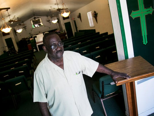 Willie Green, a civil rights activist and former local NAACP leader, has been pushing to stop the expansion of junkyards and recycling facilities in Fort Myers.
