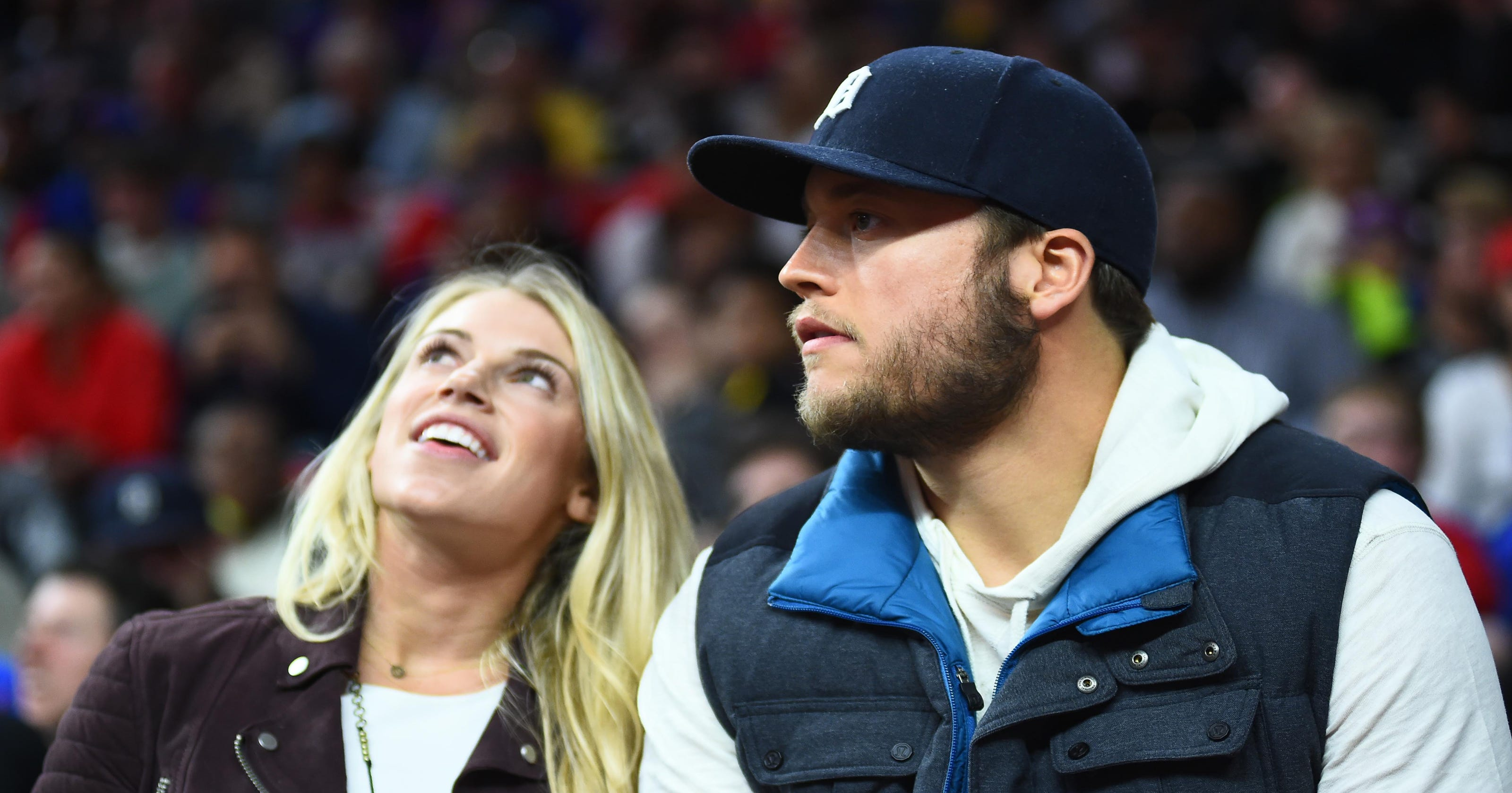 Kelly Stafford Lions Qb Matthew Staffords Wife Has Brain Tumor