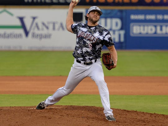 Chris Huffman went 6.1 innings Wednesday night to get