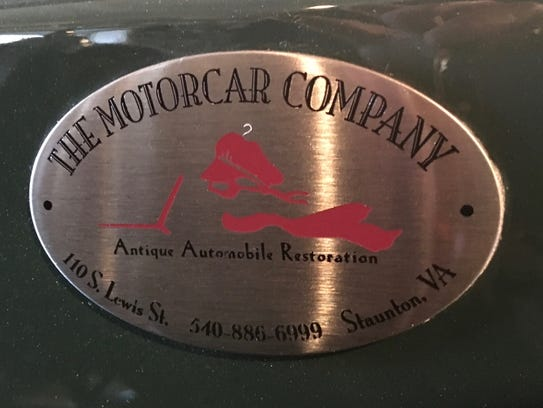 The Motorcar Company, an antique automobile restoration