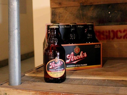 Pabst Brewing Company announced Tuesday Stroh's Bohemian-Style Pilsner will be available in Michigan stores, bars and restaurants starting Aug. 22.