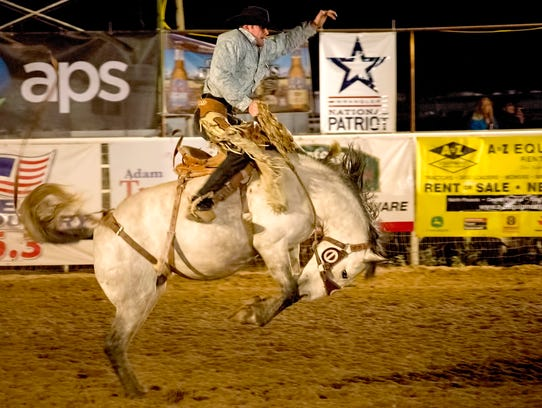 Lots of roping, riding and wrangling is in store at