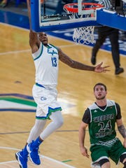 Inserting sophomore stretch forward RaySean Scott into the starting lineup after the loss at Middle Tennessee has been a good move for FGCU.