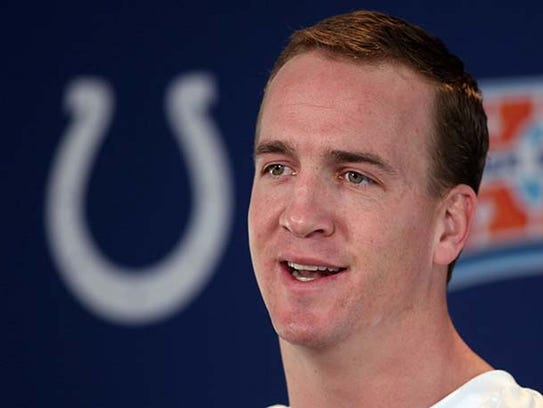 FILE -- Indianapolis Colts quarterback Peyton Manning