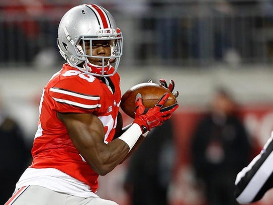 Ohio State Buckeyes wide receiver Terry McLaurin was
