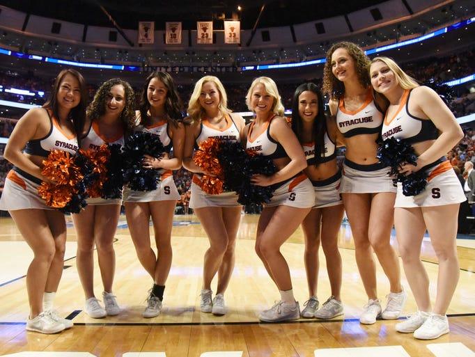 NCAA tournament cheerleaders