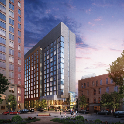 Renderings of  the $90 million development featuring