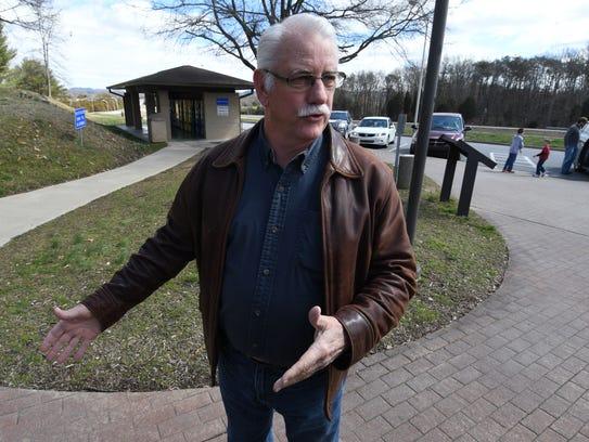 John Huffine, the retired Greene County Sheriff's Department