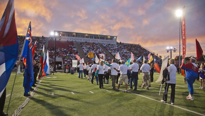 The 32nd Huntsman World Senior Games will hold its opening ceremonies Oct. 9, 2018.