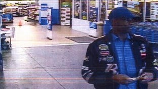The Wakulla County Sheriff's Office is seeking information about this man in connection to several thefts at the Wal-Mart in Crawfordville