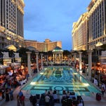 Vegas Uncork'd by Bon Appetit's Grand Tasting event took place at Caesars Palace in 2013.