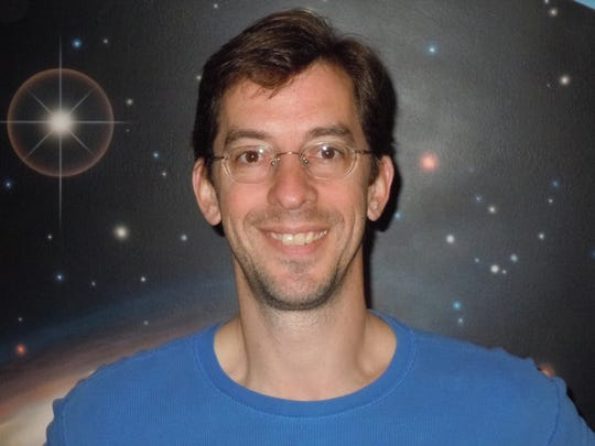 """Bob Swanson, an astronomy instructor at Itawamba Community College in Fulton, hopes his view of the universe from NASA's SOFIA, a flying laboratory and observatory, """"will help me make the stars and planets real to my students."""""""
