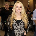 Singer Danielle Bradbery attends the iHeartRadio Music Festival at the MGM Grand Garden Arena on Sept. 21, 2013 in Las Vegas.