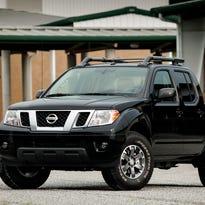 2015 Nissan Frontier pickup truck