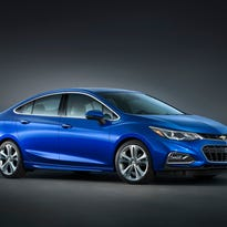 The 2016 Chevrolet Cruze – a larger, lighter, more efficient and more sophisticated evolution of the brand's best-selling global car.