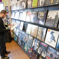 Records never went away for vinyl collector