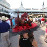 Women come out every year to the Kentucky Derby wearing their extravagant hats.