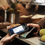 Near-field communication lets two NFC-enabled devices make a digital handshake, such as tapping your phone to make a payment on a retailer's contactless terminal.
