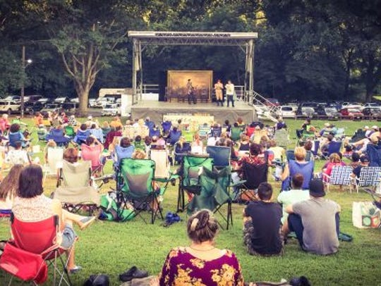 Shakespeare in the Park will be presented at 7 p.m.