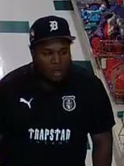Police say this man used a stolen credit card to purchase a bearded dragon at Pet Supplies Plus.