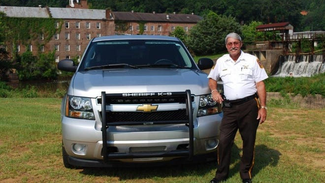 File photo shows Autauga County Sheriff Joe Sedinger. Sedinger was driving his department-issued vehicle when two other vehicles collided and then struck his vehicle.
