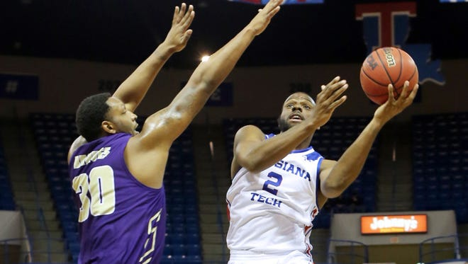Louisiana Tech's Erik McCree poured in 25 points but it wasn't enough as Florida Gulf Coast stole a 79-78 win on Tuesday night at the Thomas Assembly Center.