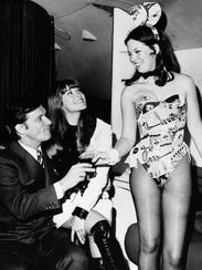 FILE - In this March 1970 file photo, Hugh Hefner,