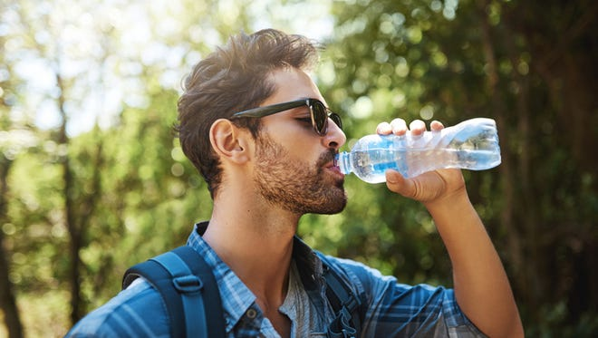 One cause of dehydration is excessive sweating, which can be caused by heat exposure.