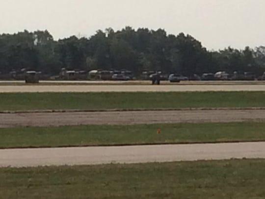 Airplane crash Thursday