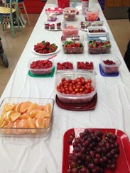 Some teachers have embraced the idea of healthy food