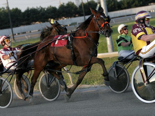 Hazel Park Raceway hosted only harness racing from