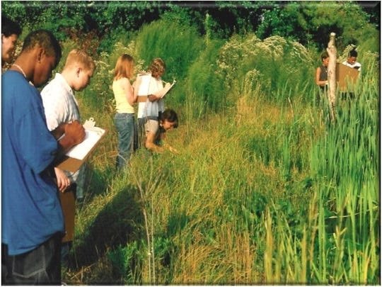 This freshwater wetland habitat constructed by Envirotech introduces local students to elements of the coastal plain environment. Envirotech will build another one for the Delaware Botanic Gardens, financed by a grant from the Dogfish Head Companies.