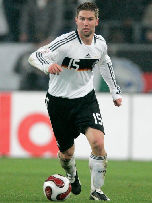 AP Germany Soccer Hitzlsperger Gay