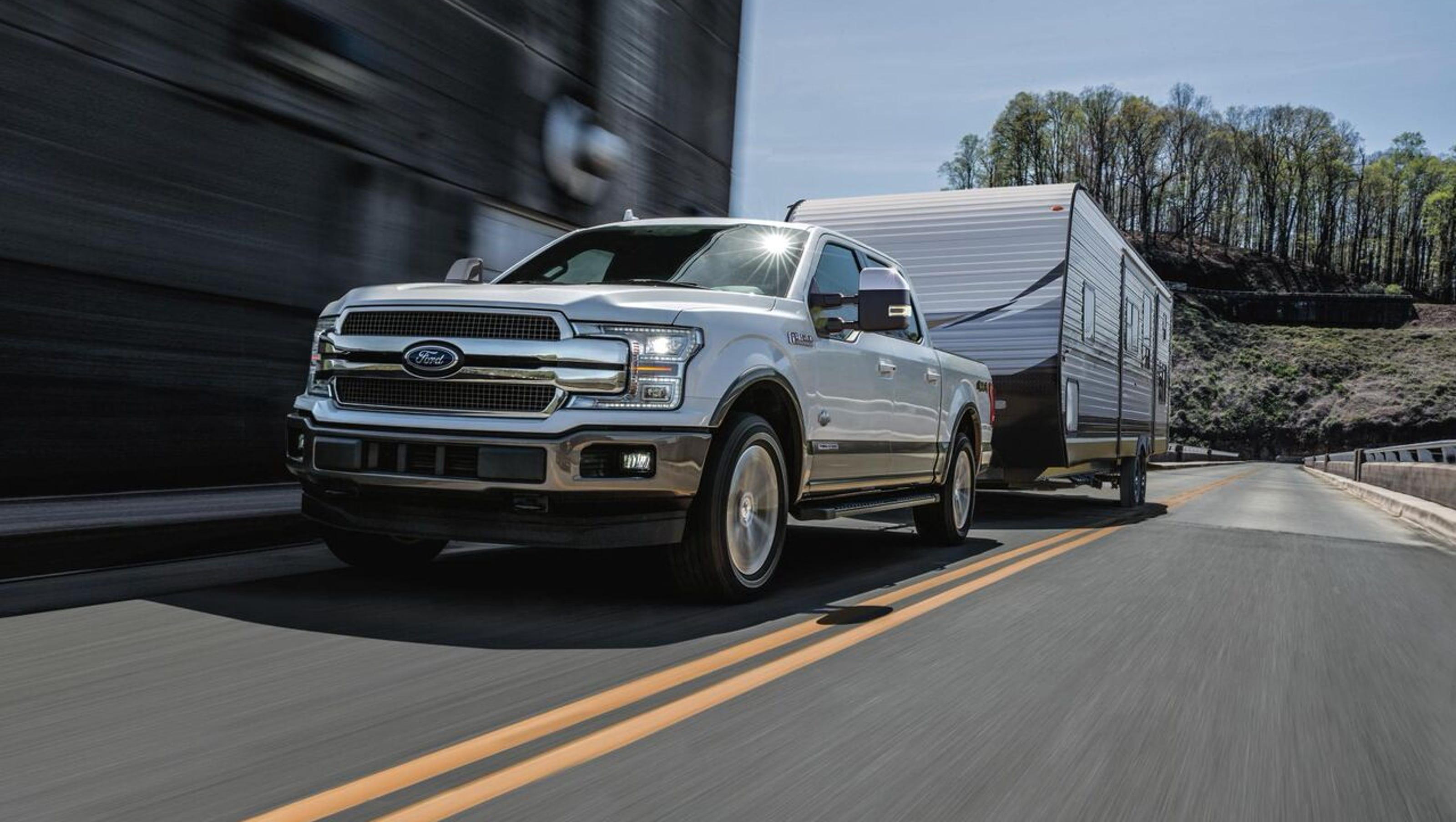 First Ford F Sel Has Targeted  M P G Best Towing
