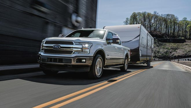 The first diesel-powered F-150 is targeted for 30 m.p.g..