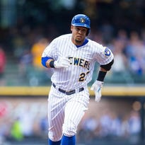 Carlos Gomez, who was traded by the Mets in 2008, is hitting .262 this year.