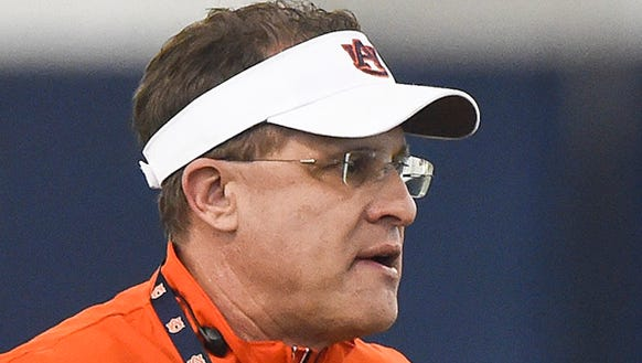 Auburn coach Gus Malzahn has three goals for his program