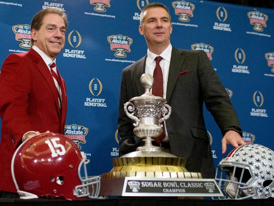 Jimbo Fisher Mad >> College Football Playoff: Alabama football gets in over Ohio State
