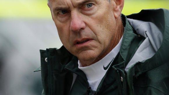 Mark Dantonio is 87-32 in nine seasons at Michigan