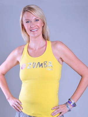 Local Zumba instructor Kirsten Quam teaches weekly classes at the Senior Center and the Recreation Department.