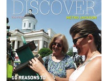 Discover Metro Jackson 2014 cover