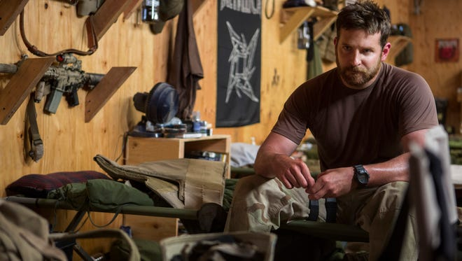 Bradley Cooper stars as Navy SEAL sharpshooter Chris Kyle in 'American Sniper.'