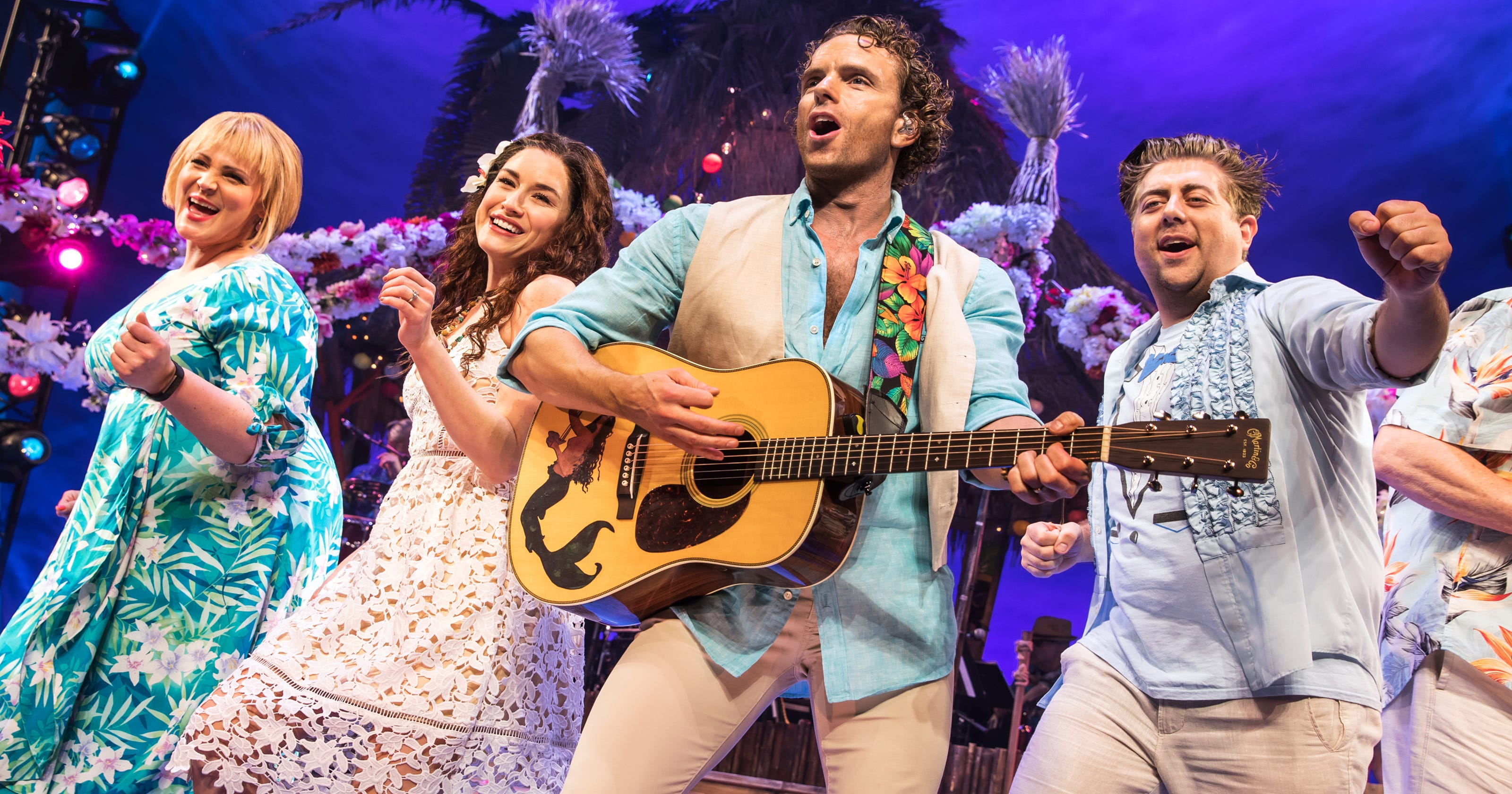Jimmy Buffett's 'Margaritaville' is a boozy Broadway show for