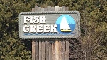 Fish Creek column