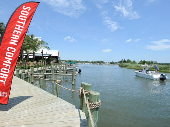 The Paradise Grill located on Indian River Bay in the