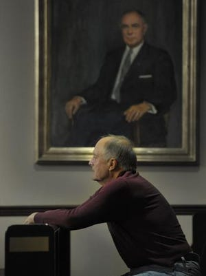 Jim Edwards, 73, is a third-year law student at Nashville School of Law and its oldest student. He aspires to help the people who he says are taken advantage of in insurance cases.