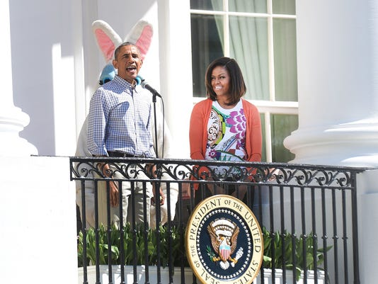 White House Hosts Annual Easter Egg Roll On The South Lawn- DC