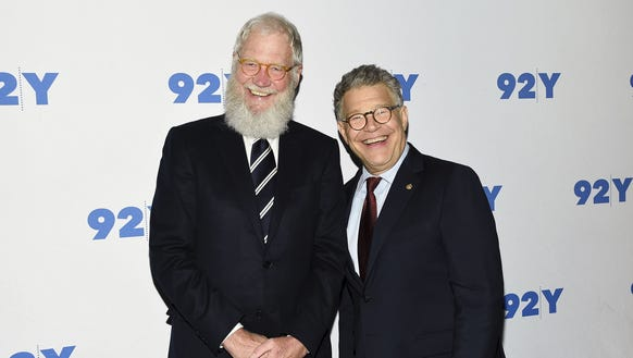 Al Franken and David Letterman take on climate change